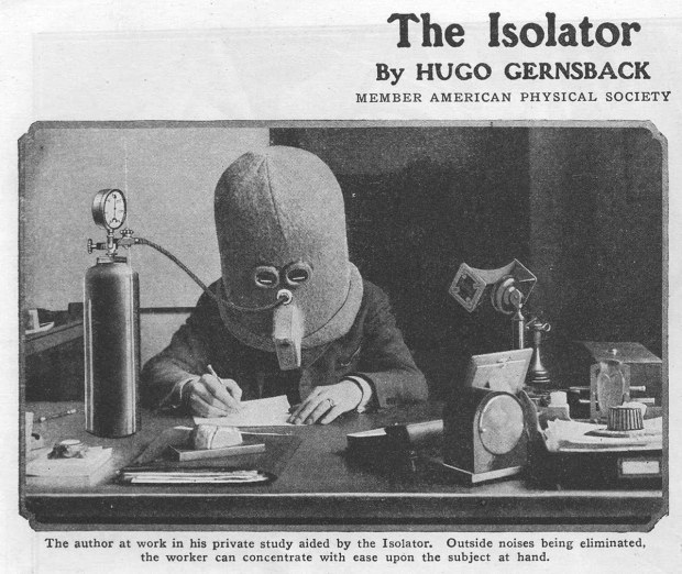 The Isolator in action, via A Great Disorder