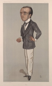 Max Beerbohm by Walter Sickert in Vanity Fair (1897)