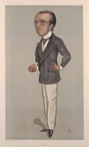 Max Beerbohm by Walter Sickert in Vanity Fair (1897)