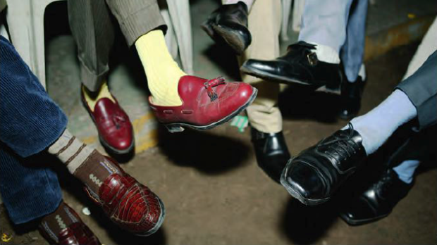 sapeurs shoes